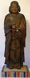 聖徳太子像【鎌倉時代】 県の重要文化財です