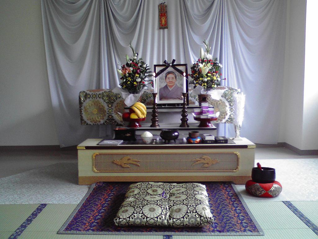 自宅葬20万円プランのイメージです。